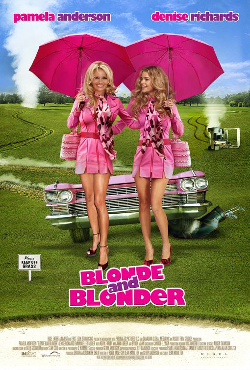 Blonde and Blonder Poster #1