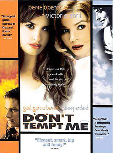 Don't Tempt Me Poster #1