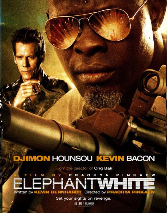 Elephant White Poster #1
