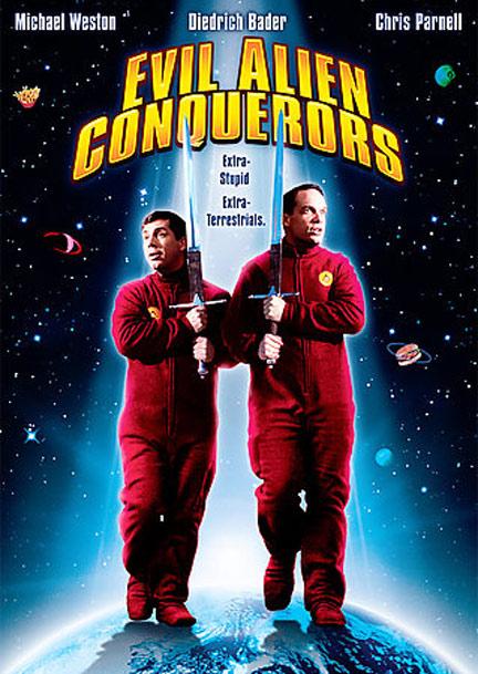 Evil Alien Conquerors Poster #1
