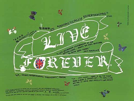 Live Forever Poster #1