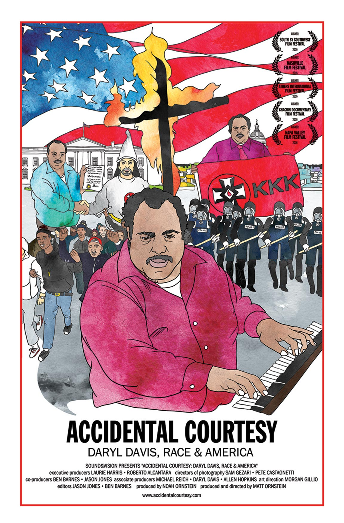 Accidental Courtesy: Daryl Davis, Race & America Poster #1
