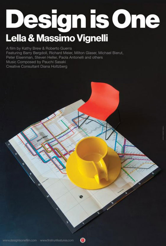 Design Is One: The Vignellis Poster #1