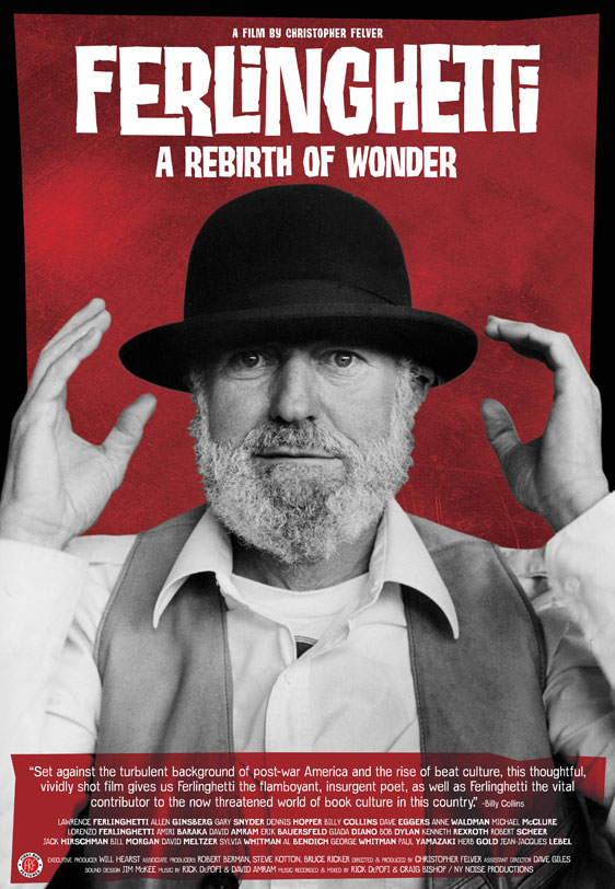 Ferlinghetti A Rebirth of Wonder Poster #1