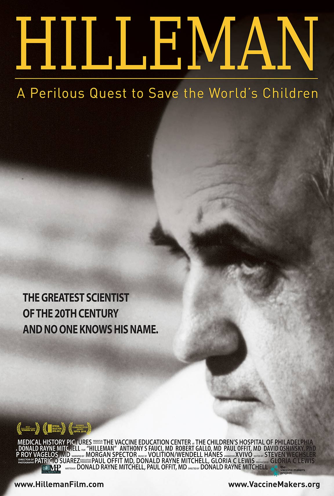 Hilleman: A Perilous Quest to Save the World's Children Poster #1