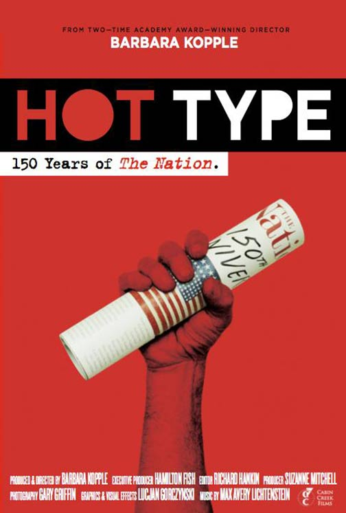 Hot Type: 150 Years Of The Nation Poster #1