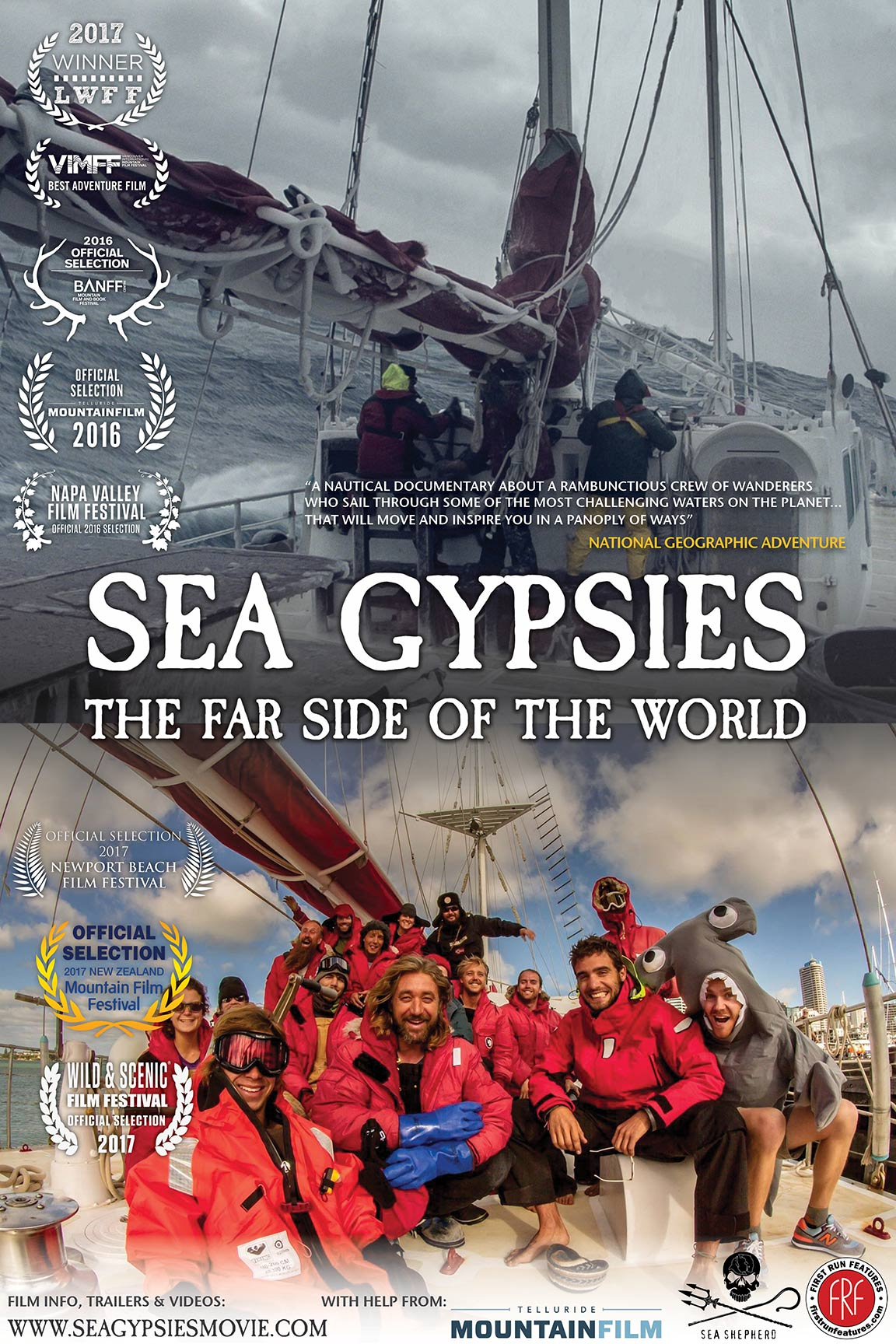 Sea Gypsies: The Far Side of the World Poster #1