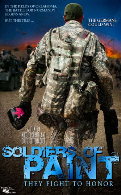 Soldiers of Paint Poster #1