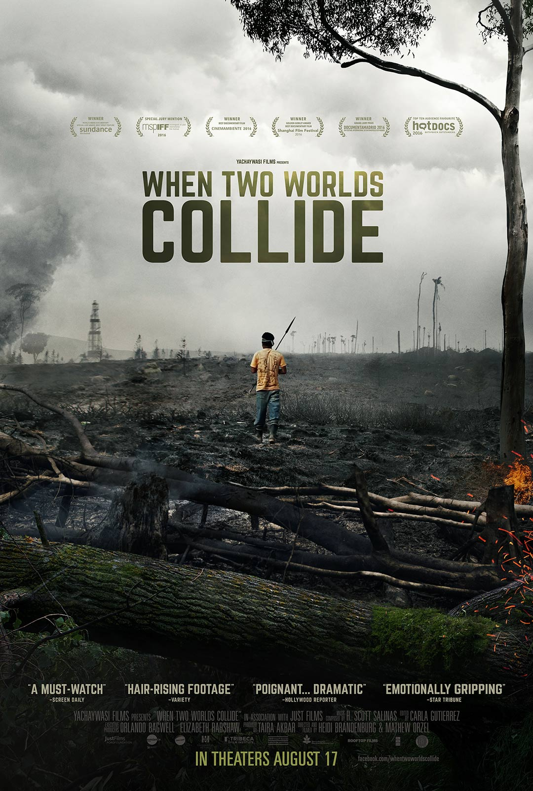 When Two Worlds Collide Poster #1