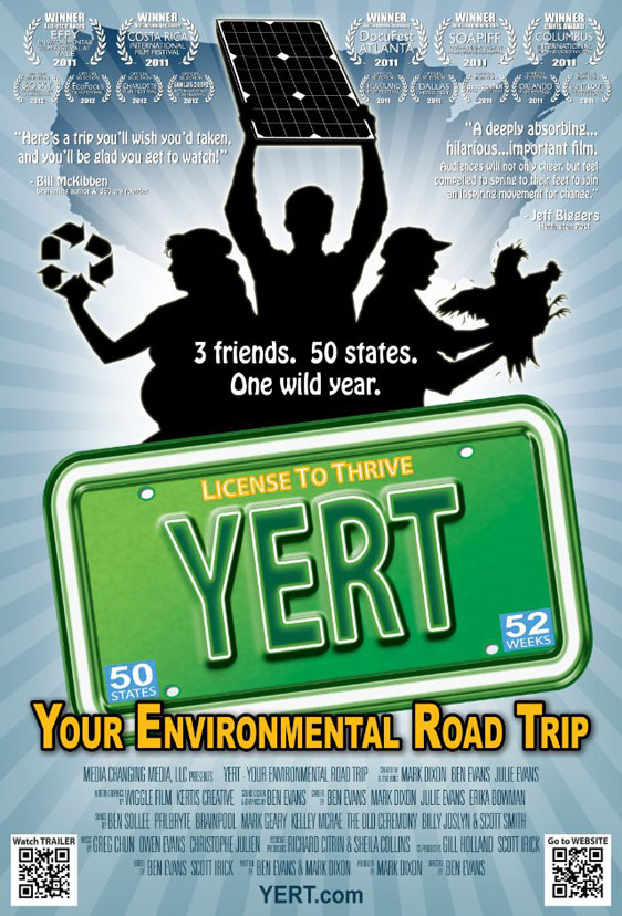 YERT - Your Environmental Road Trip Poster #1