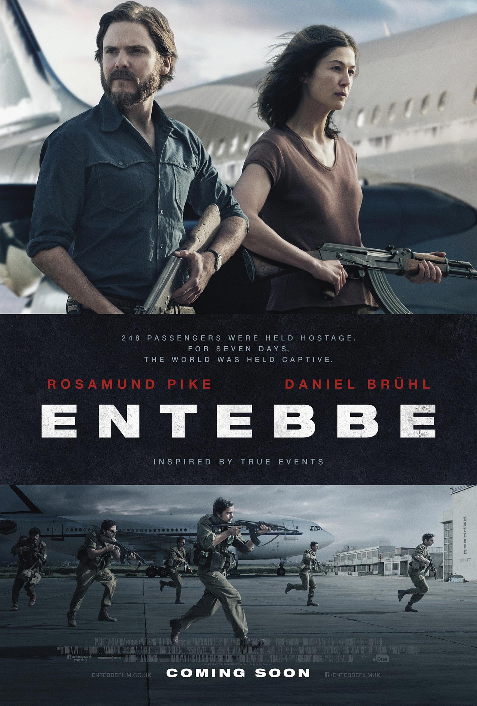 7 Days in Entebbe Poster #1