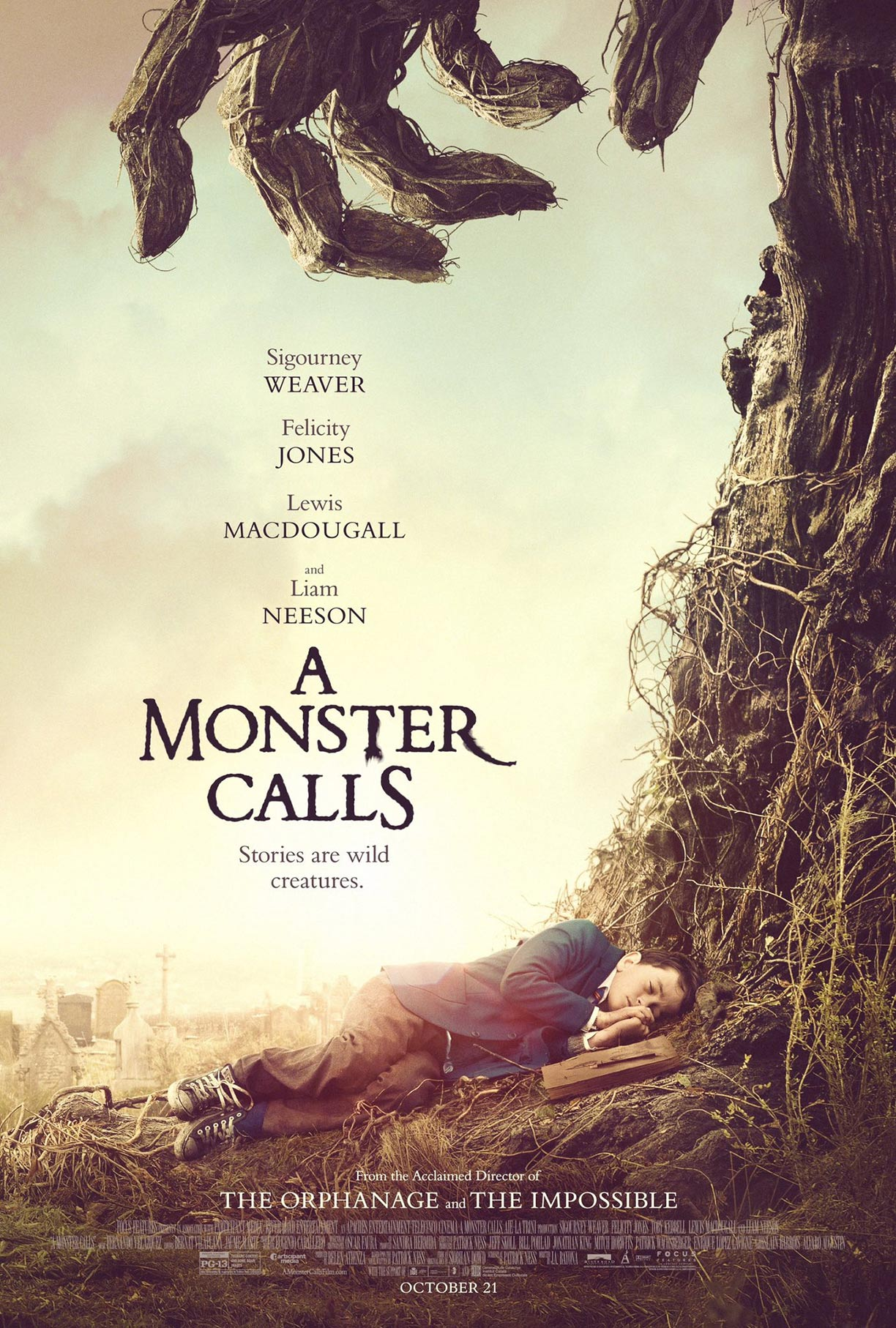 A Monster Calls Poster #1