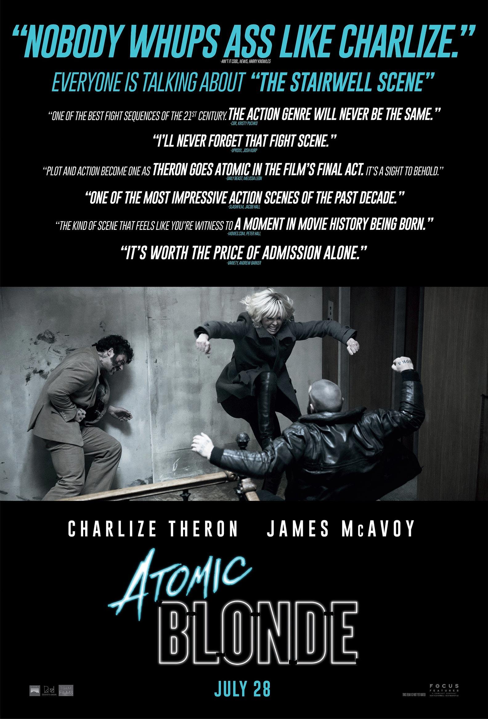 Atomic Blonde Poster #2