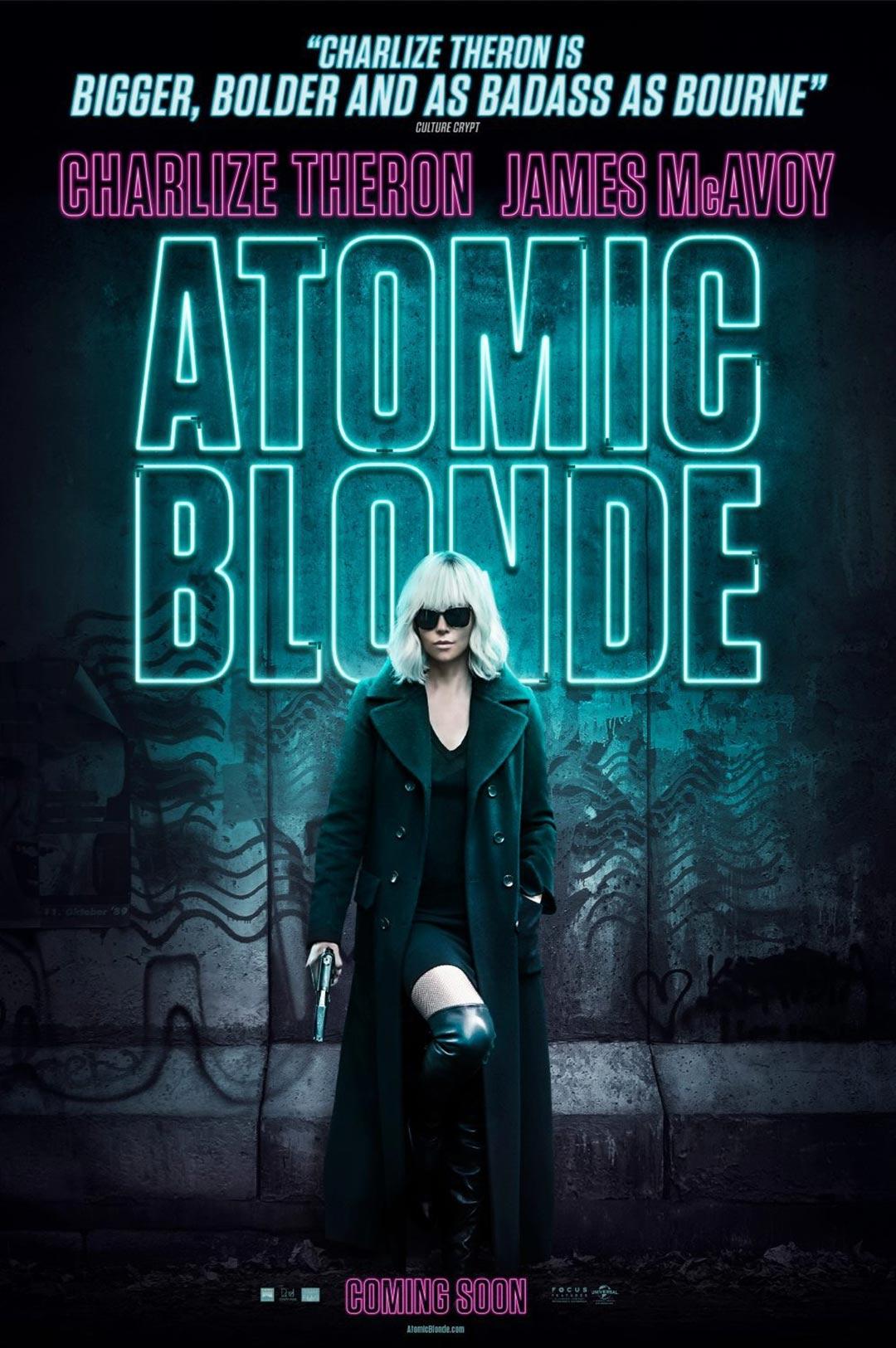 Atomic Blonde Poster #4