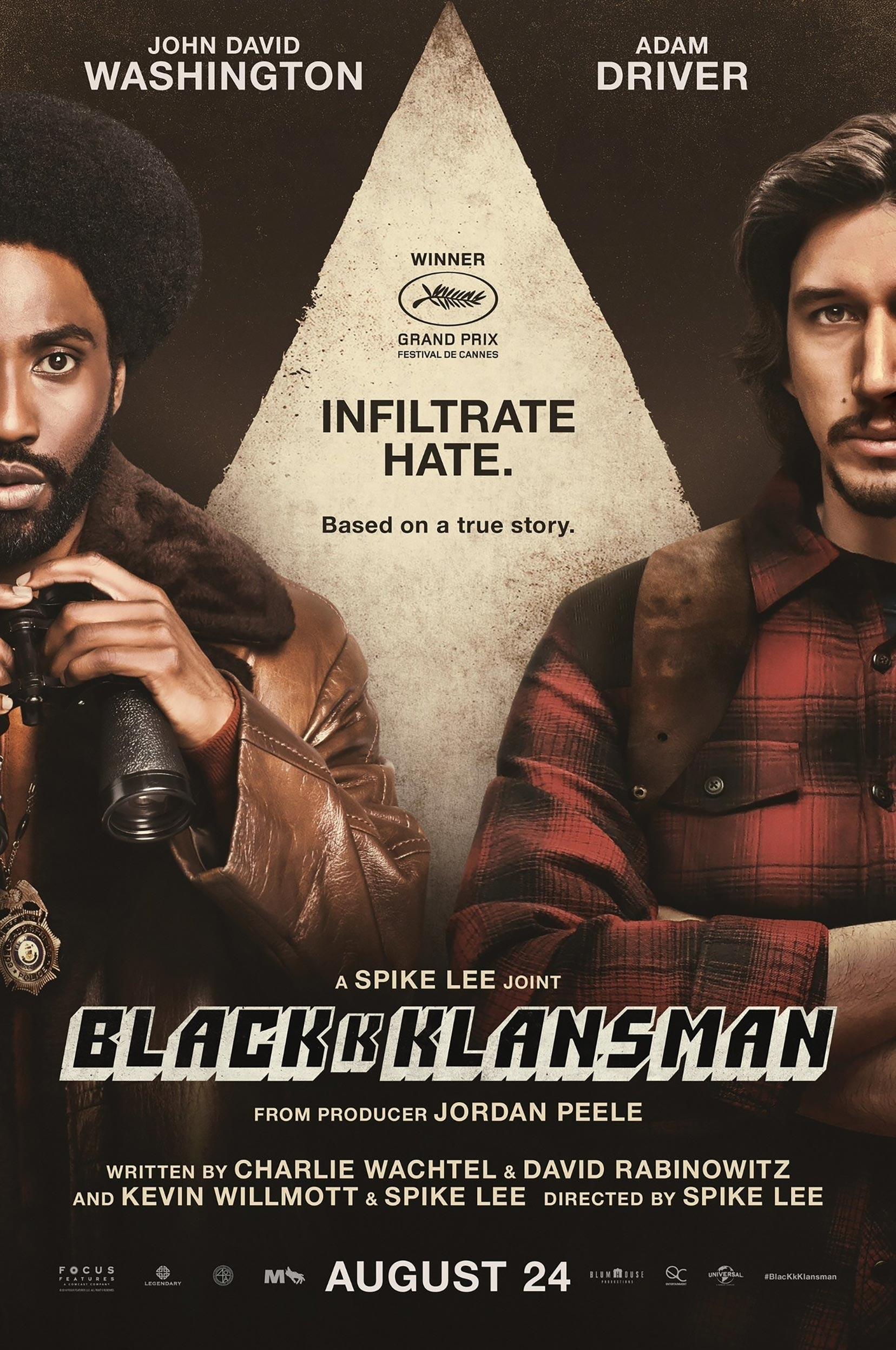BlacKkKlansman Poster #2