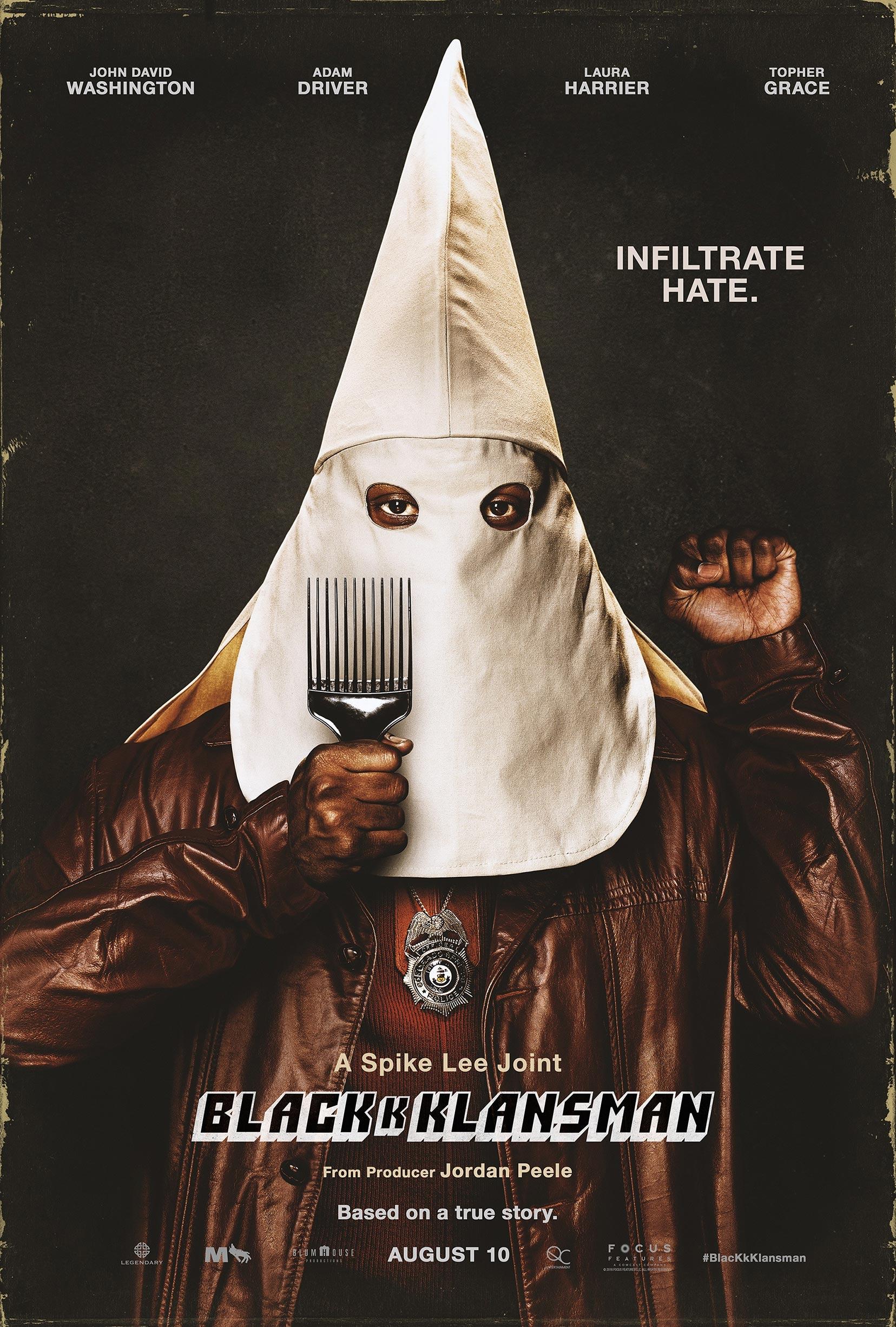 BlacKkKlansman Poster #1