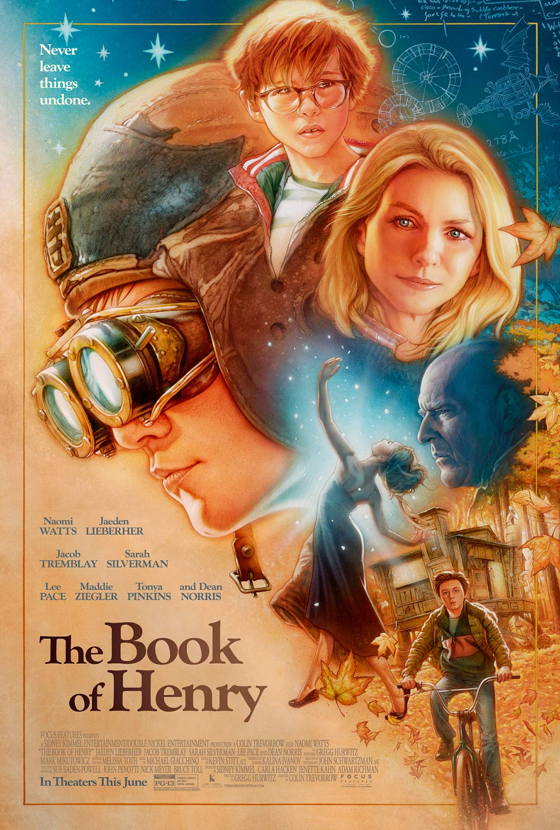 The Book of Henry Poster #1