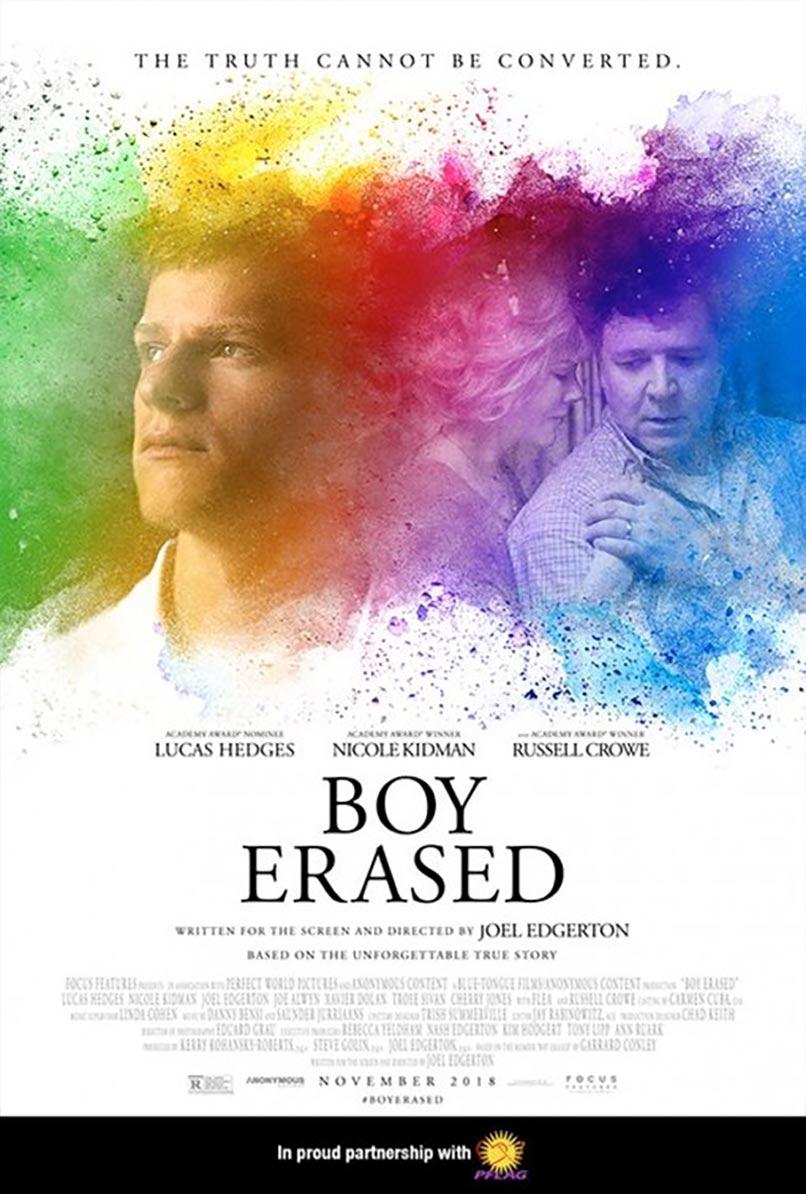 Boy Erased Poster #2