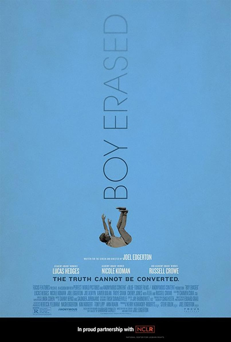 Boy Erased Poster #3