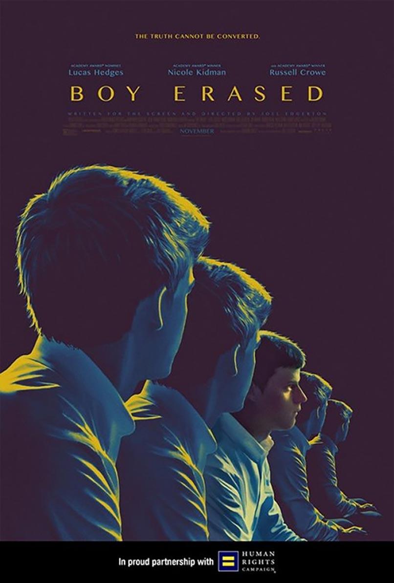 Boy Erased Poster #5