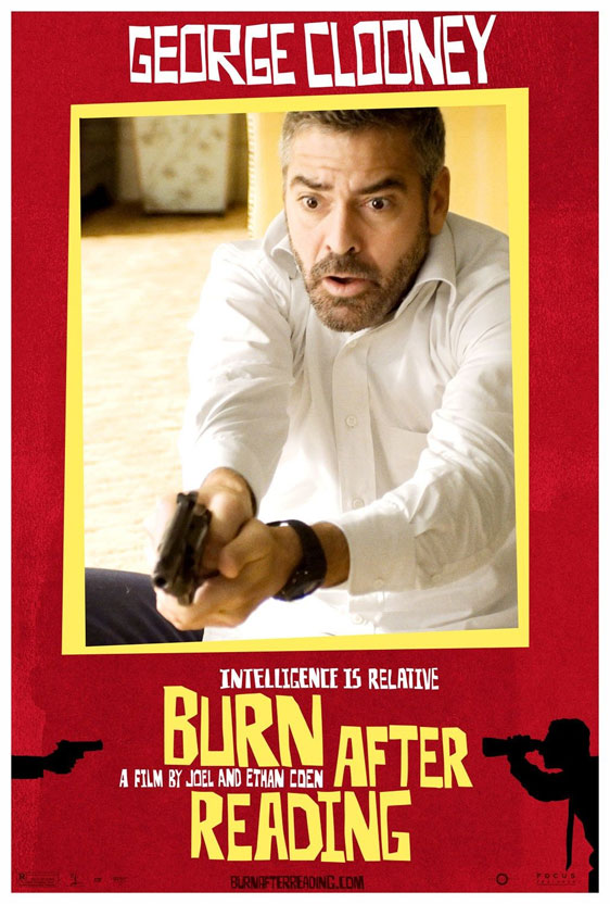 Burn After Reading Poster #10