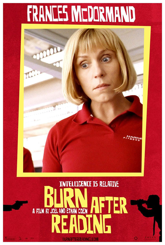 Burn After Reading Poster #11