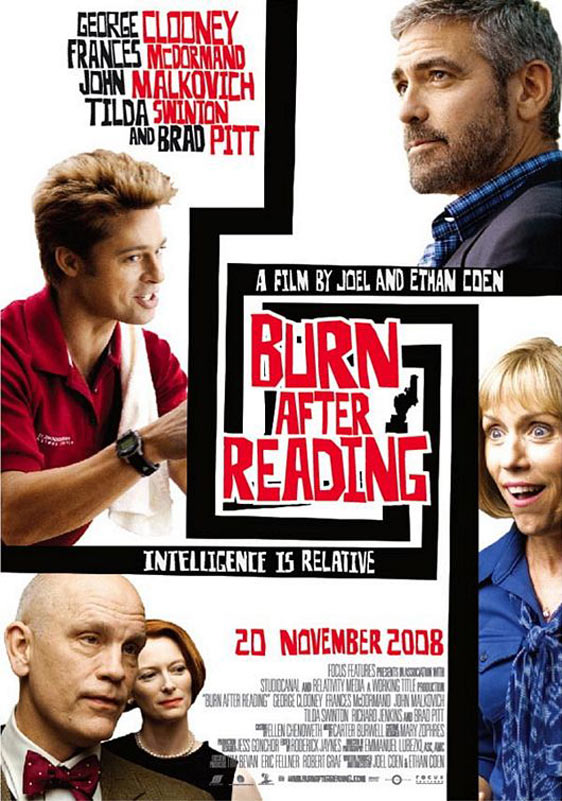 Burn After Reading Poster #12