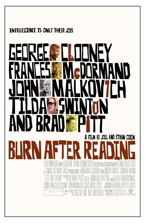 Burn After Reading Poster #2