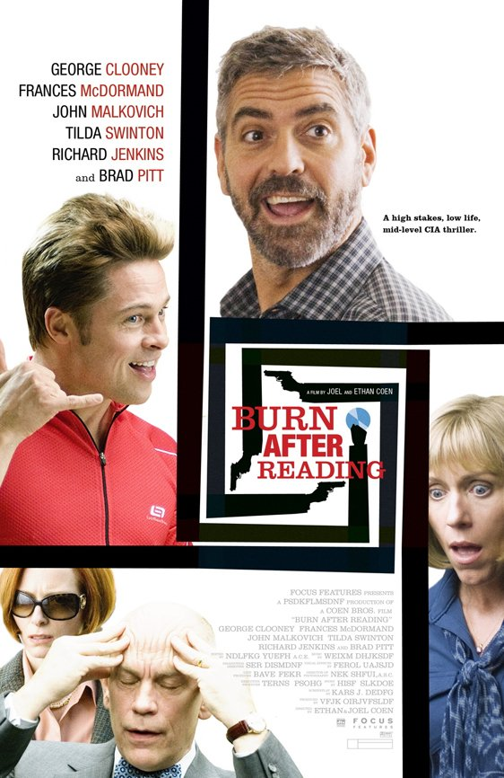 Burn After Reading Poster #3
