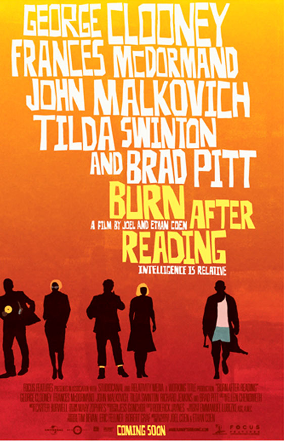 Burn After Reading Poster #4