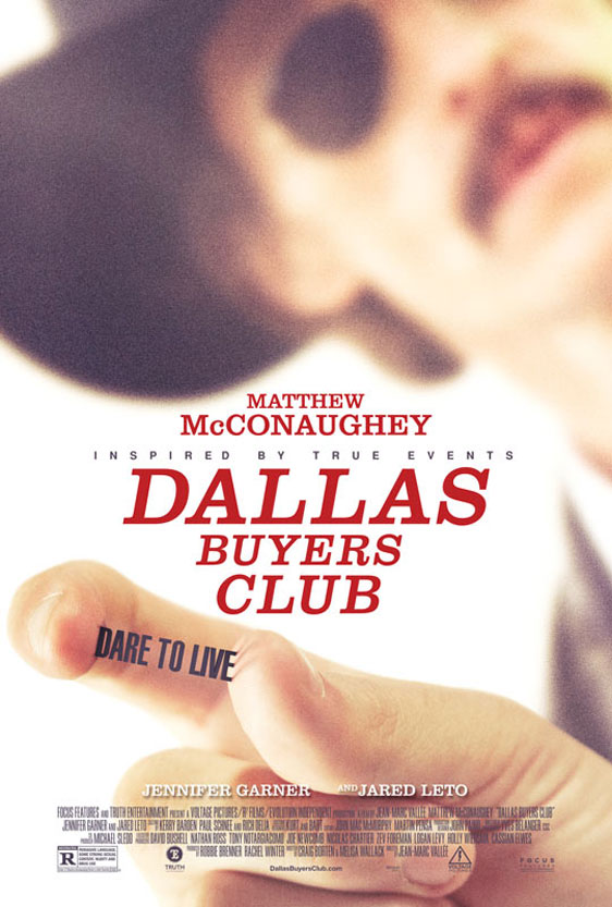 Dallas Buyers Club Poster #1