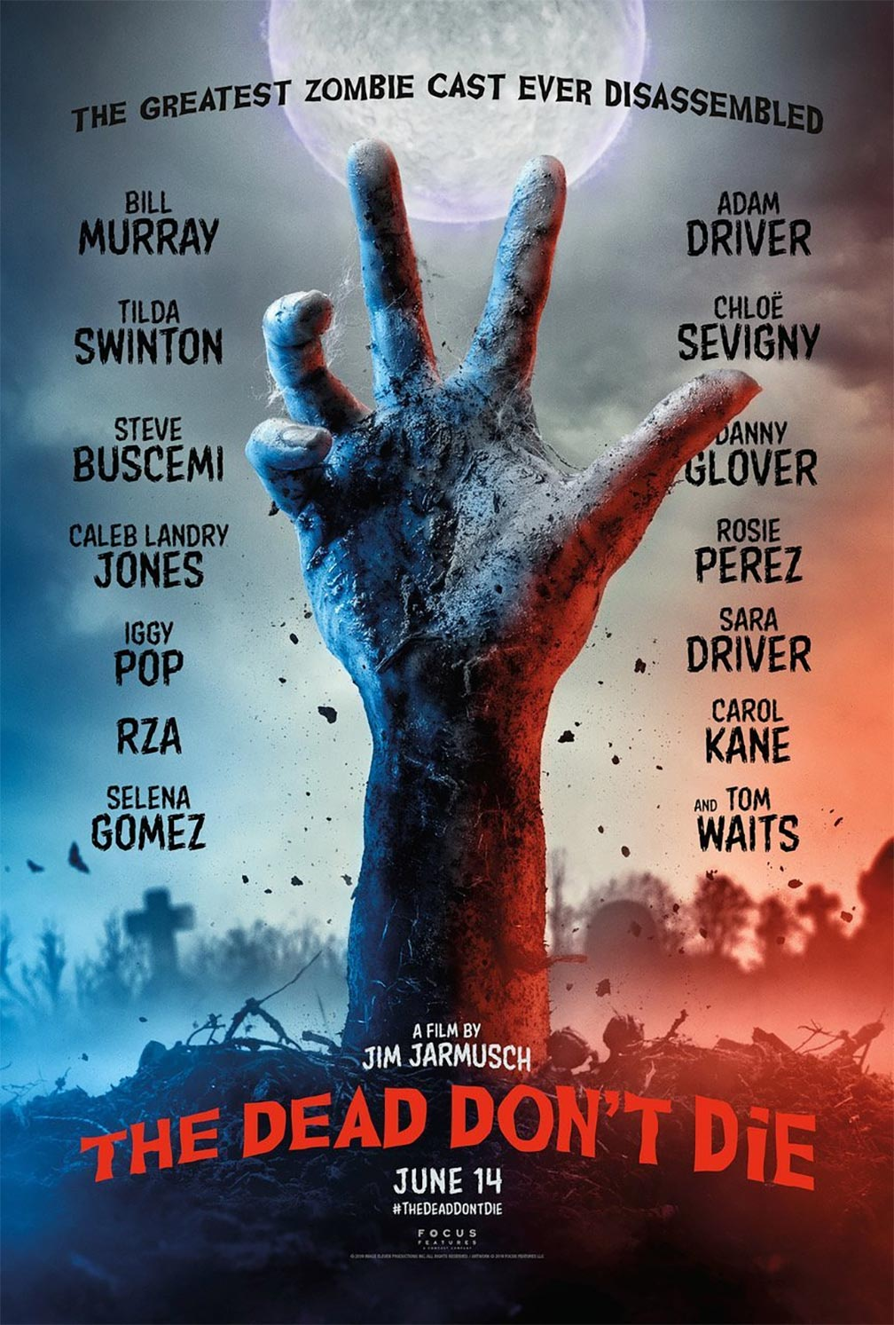 The Dead Don't Die Poster #1