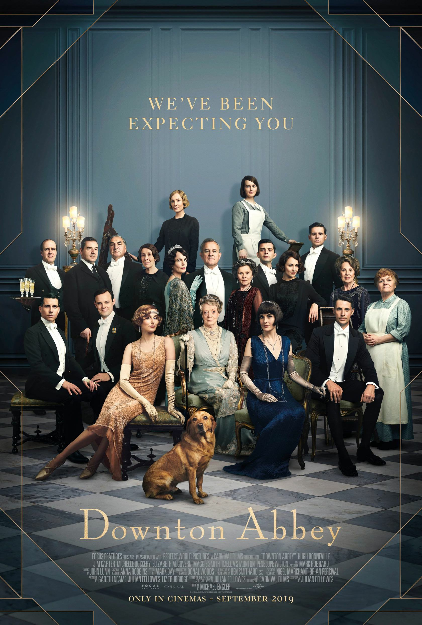 Downton Abbey Poster #3