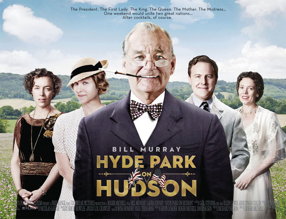 Hyde Park on Hudson Poster #2