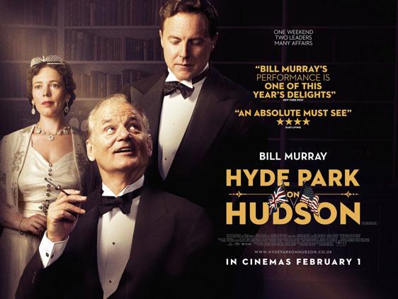 Hyde Park on Hudson Poster #4