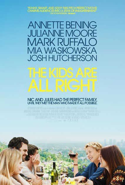 The Kids Are All Right Poster #1