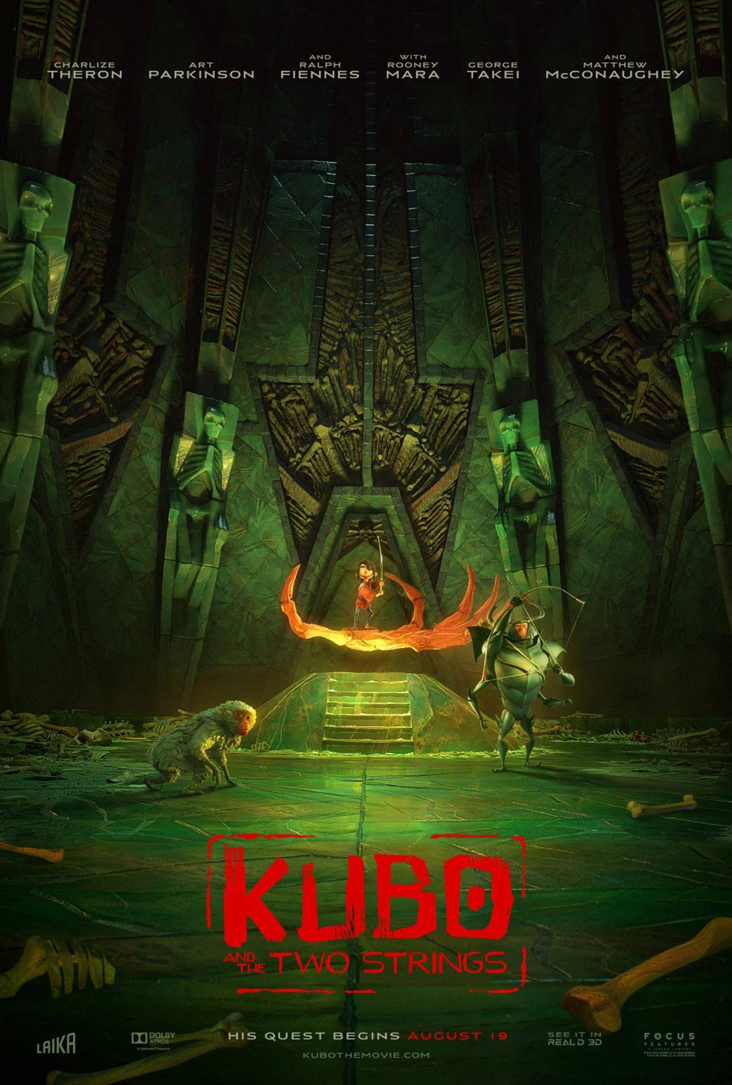 Kubo and the Two Strings Poster #11