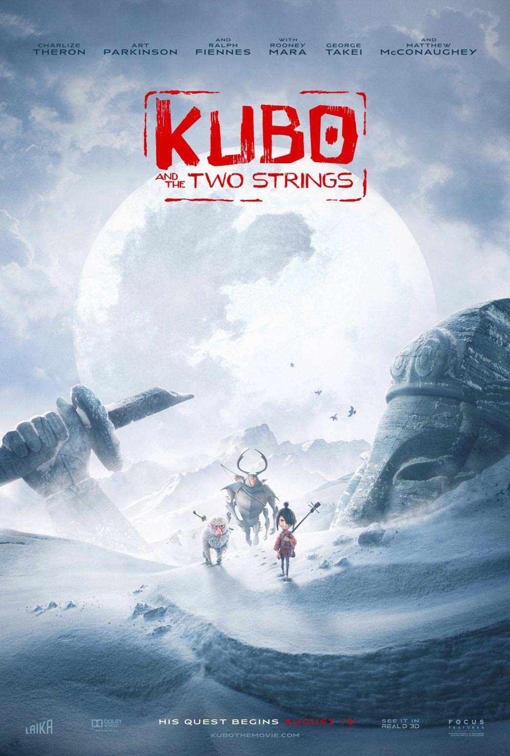 Kubo and the Two Strings Poster #12