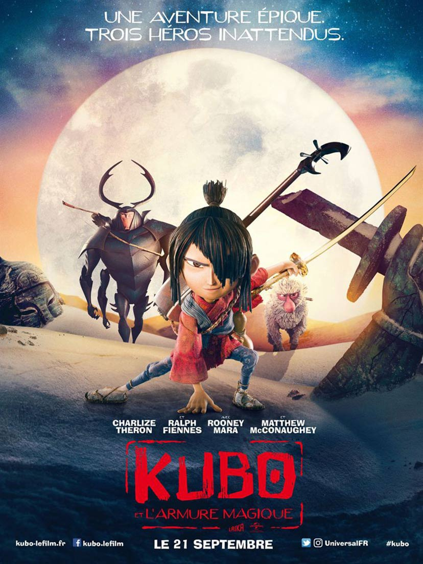 Kubo and the Two Strings Poster #15