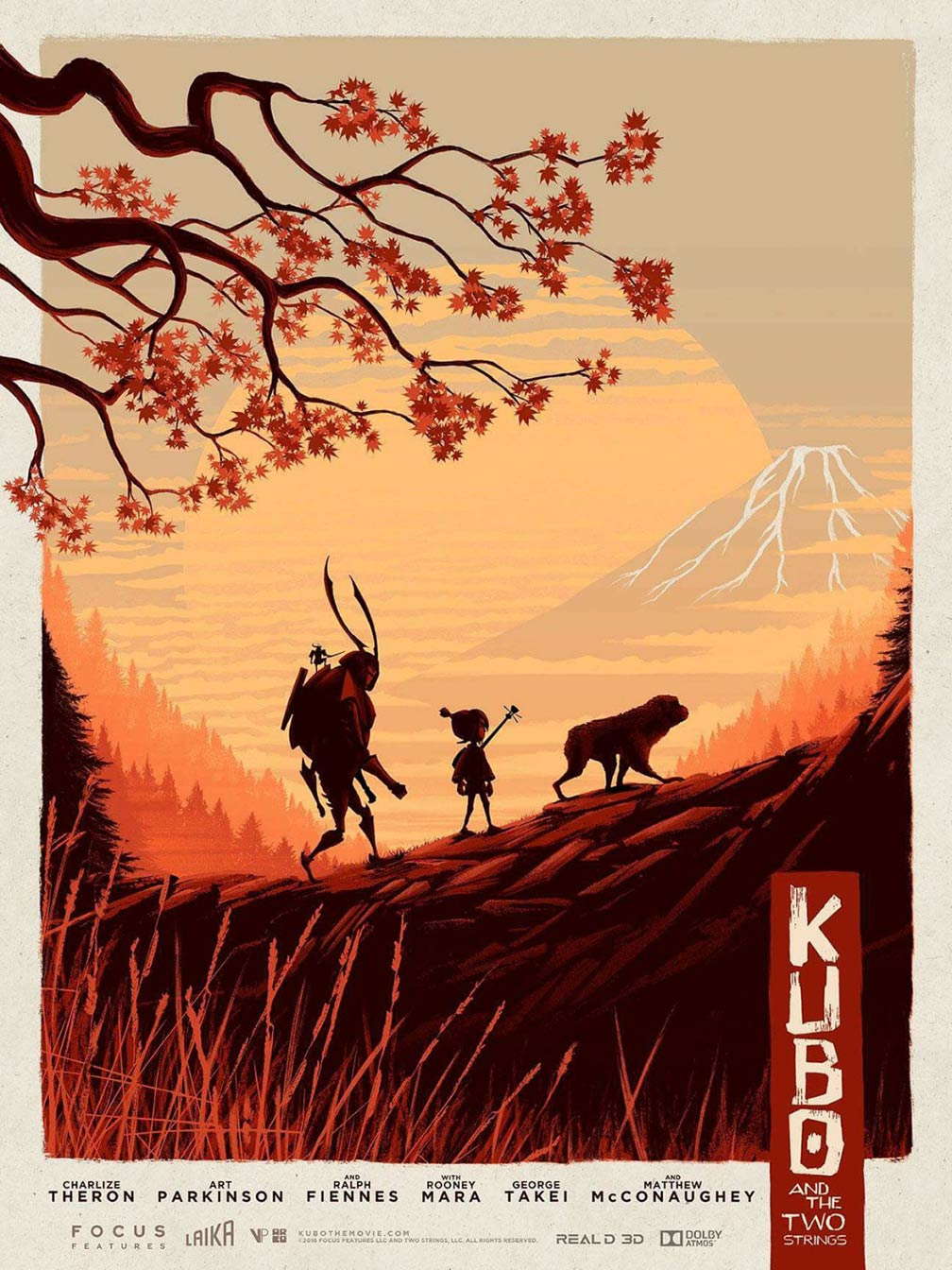 Kubo and the Two Strings Poster #16