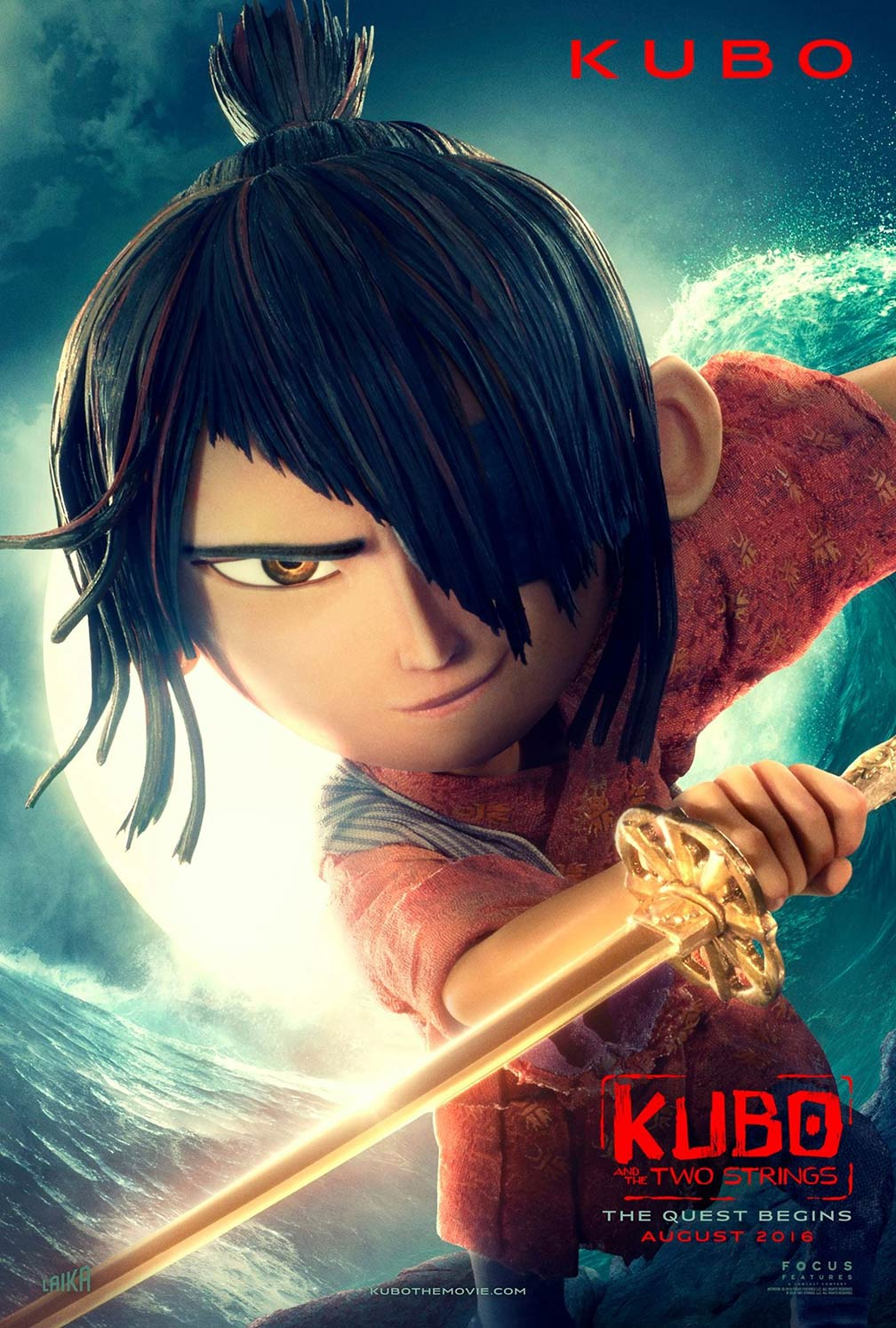 Battle Angel Alita >> Kubo and the Two Strings (2016) Poster #1 - Trailer Addict