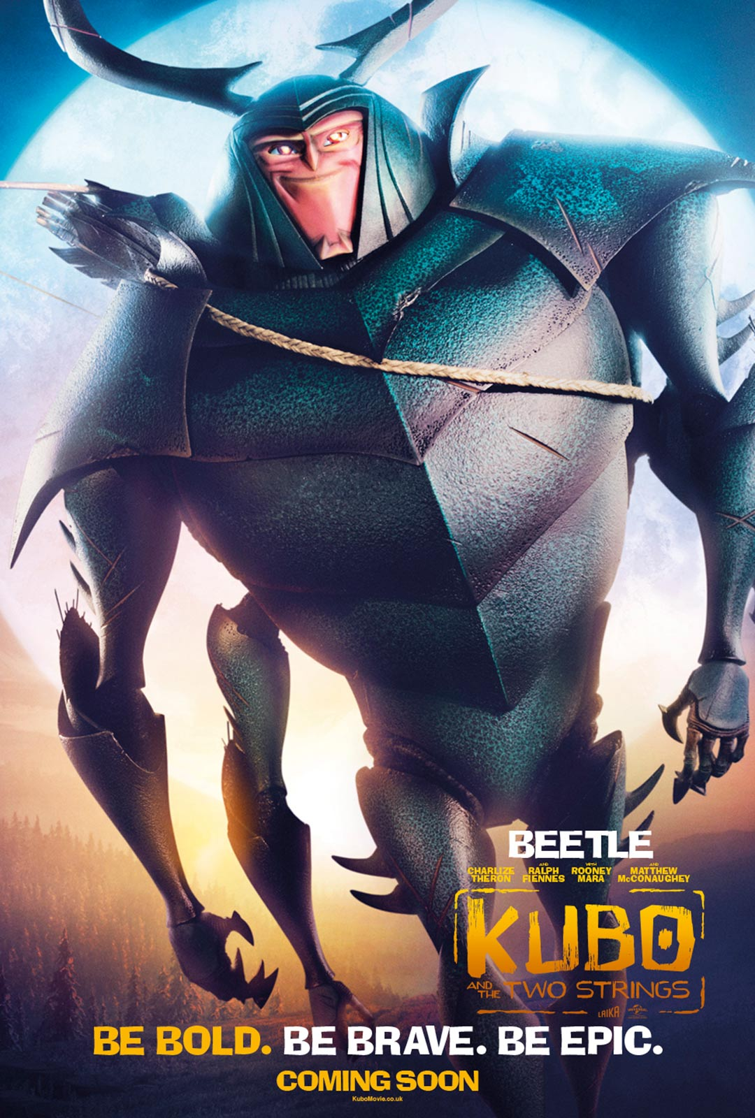 Kubo and the Two Strings Poster #5