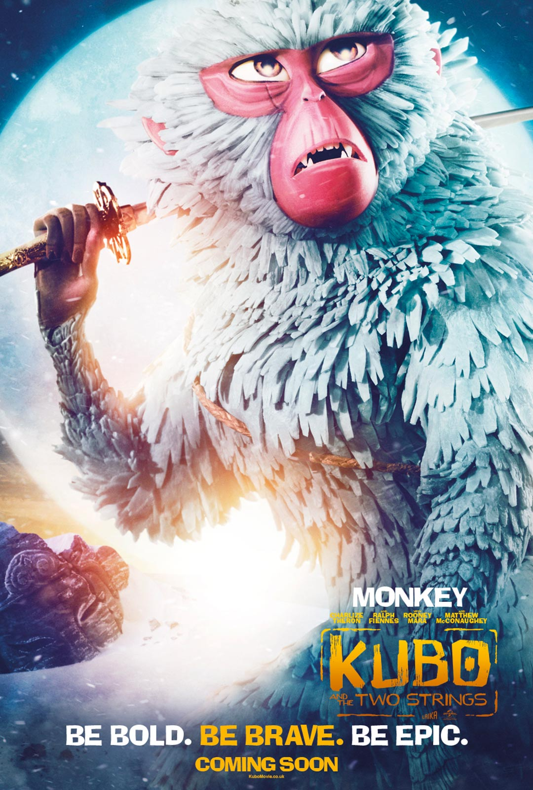 Kubo and the Two Strings Poster #6