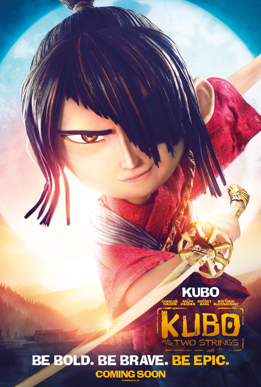 Kubo and the Two Strings Poster #7