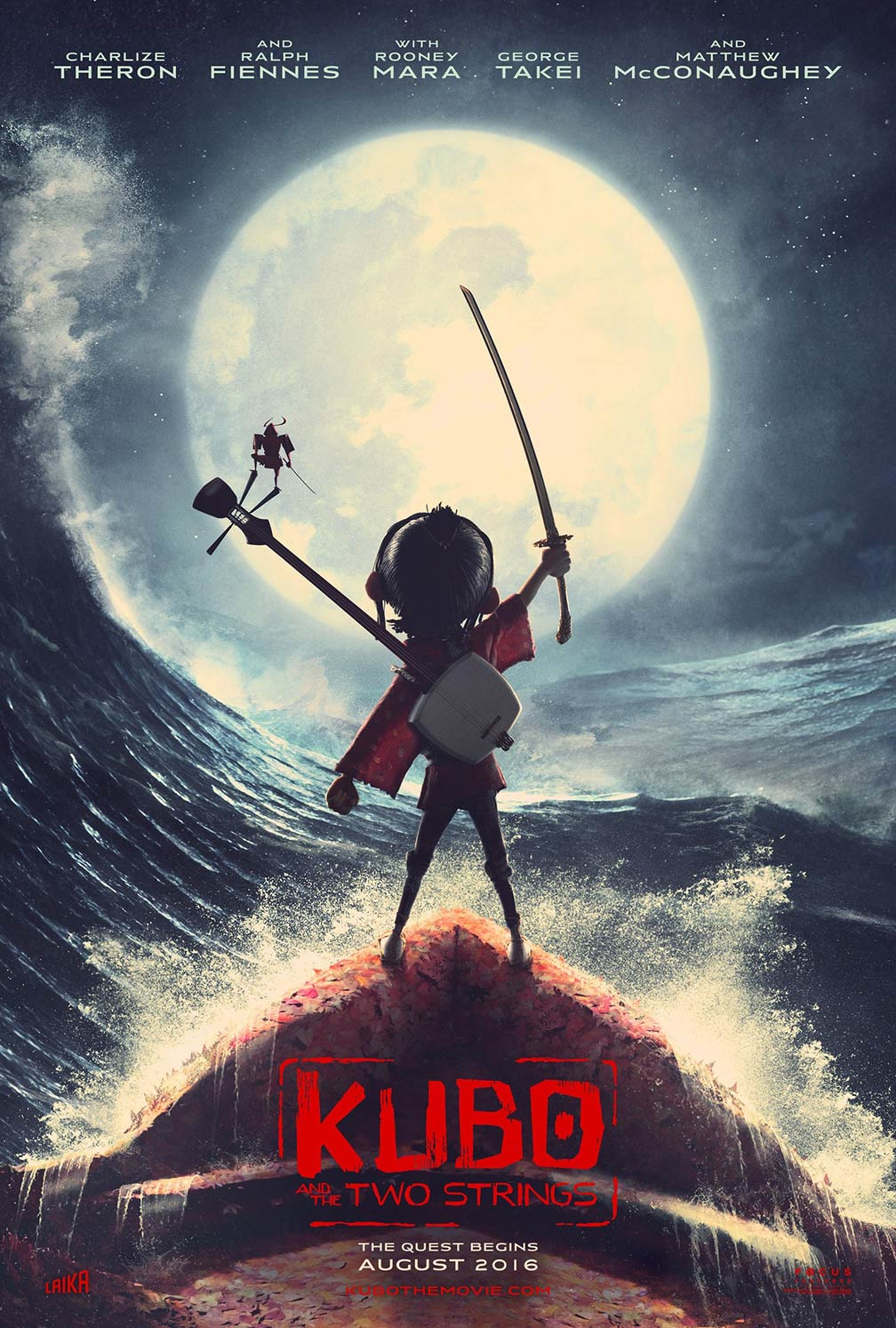 Kubo and the Two Strings Poster #1