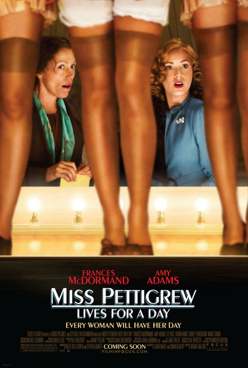 Miss Pettigrew Lives for a Day Poster #1