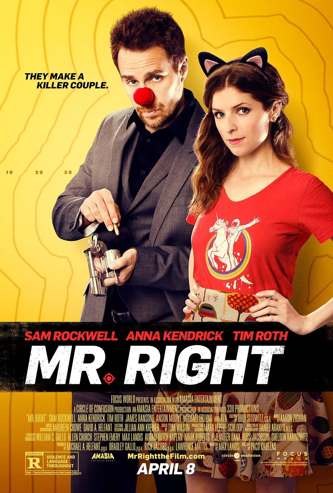Mr. Right Poster #1
