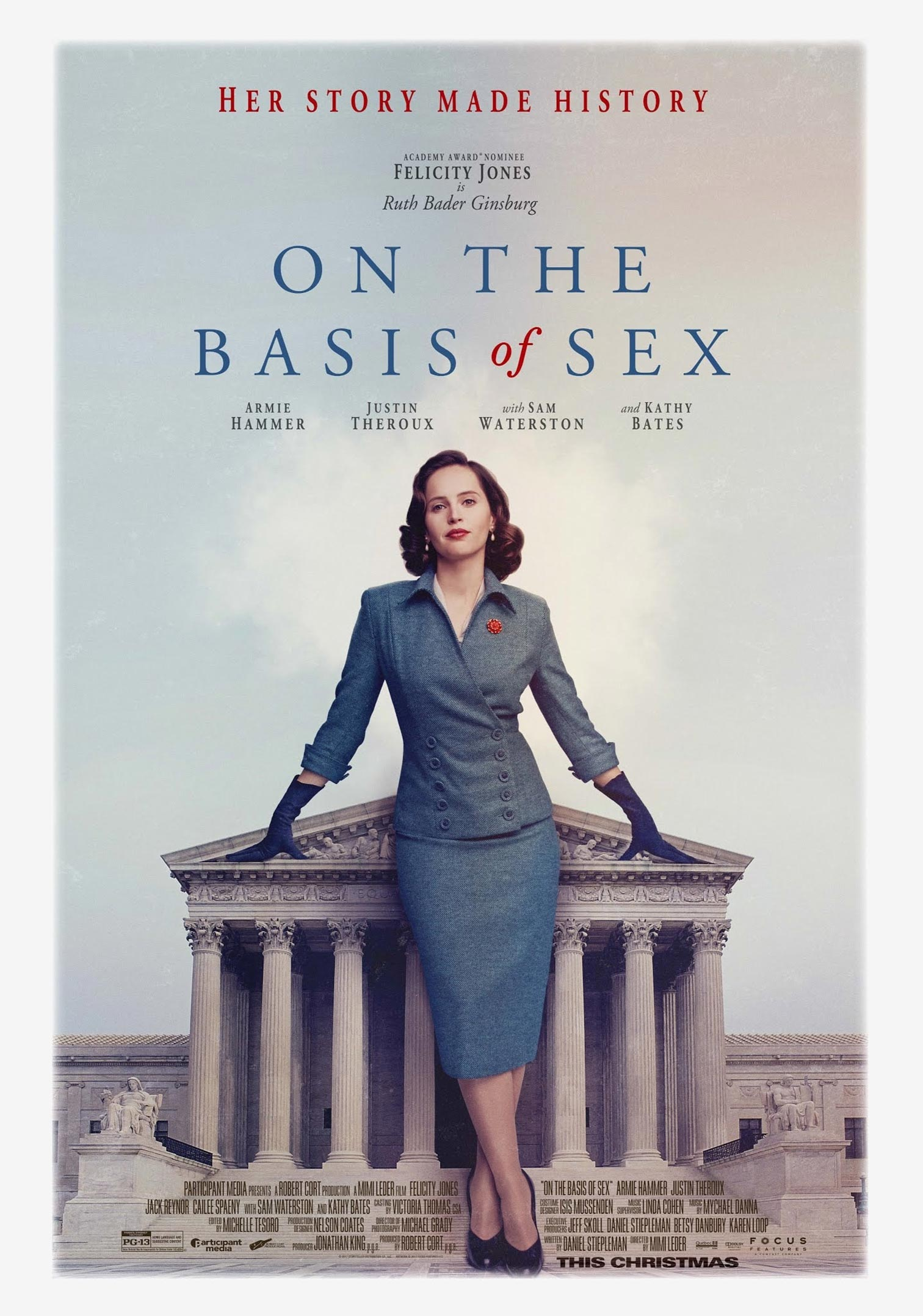 On the Basis of Sex Poster #1