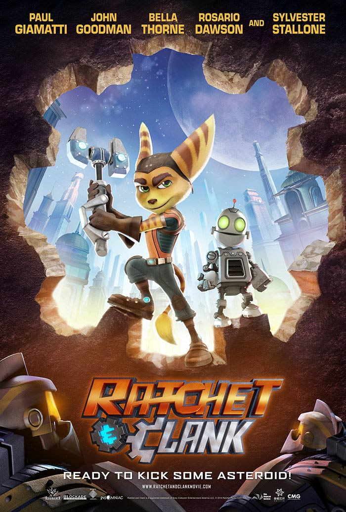Ratchet and Clank Poster #1