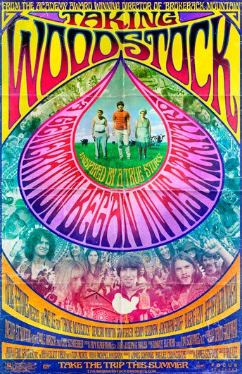 Taking Woodstock Poster #1